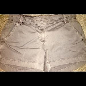 J crew gray chino shorts